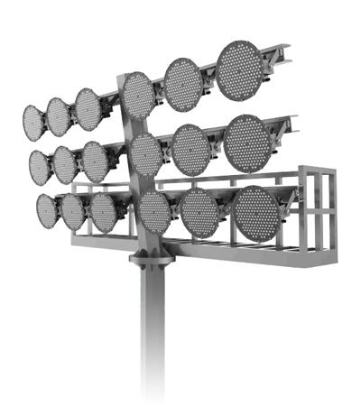 Grosshandel-Flutlichtmaste-Flutlichtmasten-LED-Flutlichtanlage-Flutlichtstrahler